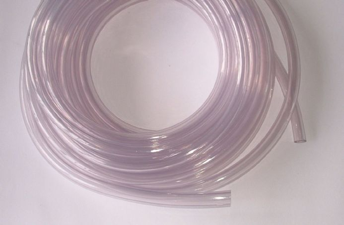 CLASSIC CAR / MOTORCYCLE FUEL HOSE PIPE clear PLASTIC 8mm I/D